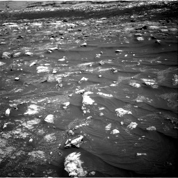 Nasa's Mars rover Curiosity acquired this image using its Right Navigation Camera on Sol 3008, at drive 1030, site number 85