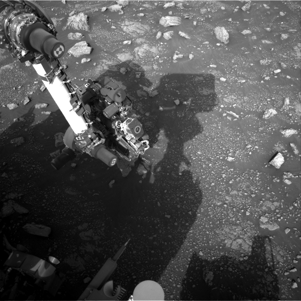 Nasa's Mars rover Curiosity acquired this image using its Right Navigation Camera on Sol 3010, at drive 1072, site number 85
