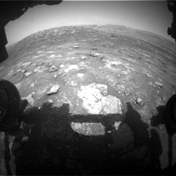 Nasa's Mars rover Curiosity acquired this image using its Front Hazard Avoidance Camera (Front Hazcam) on Sol 3011, at drive 1288, site number 85