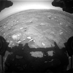 Nasa's Mars rover Curiosity acquired this image using its Front Hazard Avoidance Camera (Front Hazcam) on Sol 3011, at drive 1180, site number 85