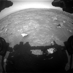 Nasa's Mars rover Curiosity acquired this image using its Front Hazard Avoidance Camera (Front Hazcam) on Sol 3011, at drive 1192, site number 85
