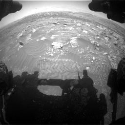Nasa's Mars rover Curiosity acquired this image using its Front Hazard Avoidance Camera (Front Hazcam) on Sol 3011, at drive 1216, site number 85