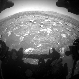Nasa's Mars rover Curiosity acquired this image using its Front Hazard Avoidance Camera (Front Hazcam) on Sol 3011, at drive 1228, site number 85