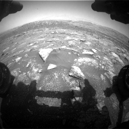 Nasa's Mars rover Curiosity acquired this image using its Front Hazard Avoidance Camera (Front Hazcam) on Sol 3011, at drive 1240, site number 85
