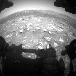 Nasa's Mars rover Curiosity acquired this image using its Front Hazard Avoidance Camera (Front Hazcam) on Sol 3011, at drive 1264, site number 85