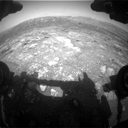 Nasa's Mars rover Curiosity acquired this image using its Front Hazard Avoidance Camera (Front Hazcam) on Sol 3011, at drive 1276, site number 85