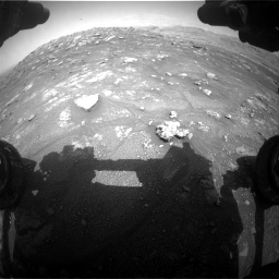 Nasa's Mars rover Curiosity acquired this image using its Front Hazard Avoidance Camera (Front Hazcam) on Sol 3011, at drive 1312, site number 85