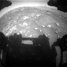 Nasa's Mars rover Curiosity acquired this image using its Front Hazard Avoidance Camera (Front Hazcam) on Sol 3011, at drive 1324, site number 85