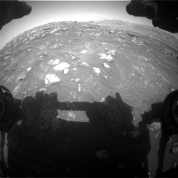 Nasa's Mars rover Curiosity acquired this image using its Front Hazard Avoidance Camera (Front Hazcam) on Sol 3011, at drive 1330, site number 85