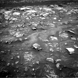Nasa's Mars rover Curiosity acquired this image using its Left Navigation Camera on Sol 3011, at drive 1102, site number 85