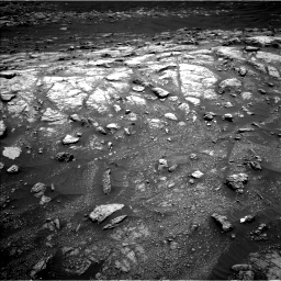 Nasa's Mars rover Curiosity acquired this image using its Left Navigation Camera on Sol 3011, at drive 1132, site number 85