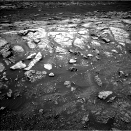 Nasa's Mars rover Curiosity acquired this image using its Left Navigation Camera on Sol 3011, at drive 1138, site number 85