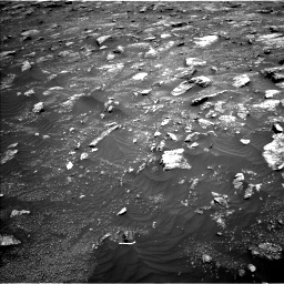 Nasa's Mars rover Curiosity acquired this image using its Left Navigation Camera on Sol 3011, at drive 1168, site number 85