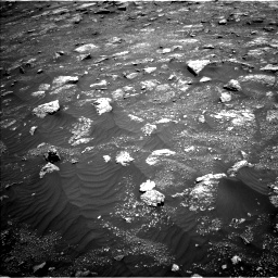 Nasa's Mars rover Curiosity acquired this image using its Left Navigation Camera on Sol 3011, at drive 1180, site number 85