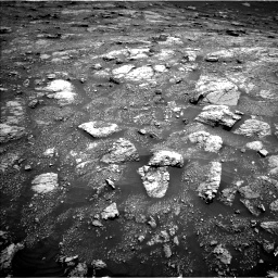 Nasa's Mars rover Curiosity acquired this image using its Left Navigation Camera on Sol 3011, at drive 1216, site number 85