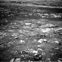 Nasa's Mars rover Curiosity acquired this image using its Left Navigation Camera on Sol 3011, at drive 1264, site number 85