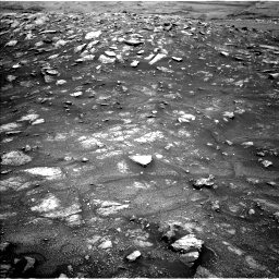 Nasa's Mars rover Curiosity acquired this image using its Left Navigation Camera on Sol 3011, at drive 1288, site number 85