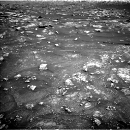 Nasa's Mars rover Curiosity acquired this image using its Left Navigation Camera on Sol 3011, at drive 1300, site number 85