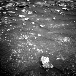 Nasa's Mars rover Curiosity acquired this image using its Left Navigation Camera on Sol 3011, at drive 1324, site number 85