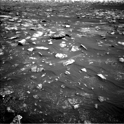 Nasa's Mars rover Curiosity acquired this image using its Left Navigation Camera on Sol 3011, at drive 1330, site number 85