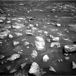 Nasa's Mars rover Curiosity acquired this image using its Left Navigation Camera on Sol 3011, at drive 1360, site number 85