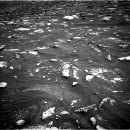 Nasa's Mars rover Curiosity acquired this image using its Left Navigation Camera on Sol 3011, at drive 1420, site number 85
