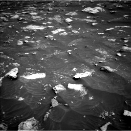 Nasa's Mars rover Curiosity acquired this image using its Left Navigation Camera on Sol 3011, at drive 1444, site number 85