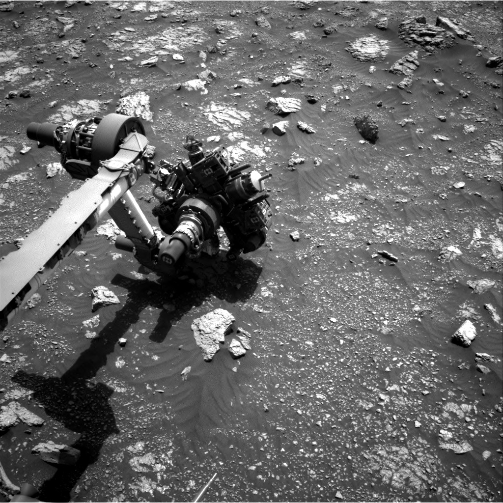 Nasa's Mars rover Curiosity acquired this image using its Right Navigation Camera on Sol 3011, at drive 1072, site number 85