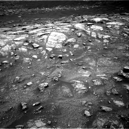Nasa's Mars rover Curiosity acquired this image using its Right Navigation Camera on Sol 3011, at drive 1126, site number 85