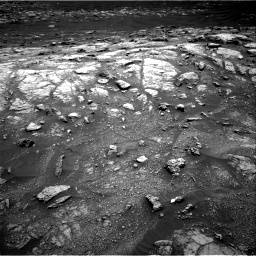 Nasa's Mars rover Curiosity acquired this image using its Right Navigation Camera on Sol 3011, at drive 1132, site number 85