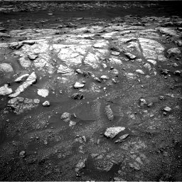Nasa's Mars rover Curiosity acquired this image using its Right Navigation Camera on Sol 3011, at drive 1138, site number 85