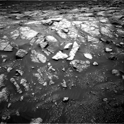 Nasa's Mars rover Curiosity acquired this image using its Right Navigation Camera on Sol 3011, at drive 1150, site number 85