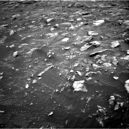 Nasa's Mars rover Curiosity acquired this image using its Right Navigation Camera on Sol 3011, at drive 1174, site number 85