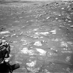 Nasa's Mars rover Curiosity acquired this image using its Right Navigation Camera on Sol 3011, at drive 1300, site number 85