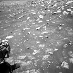 Nasa's Mars rover Curiosity acquired this image using its Right Navigation Camera on Sol 3011, at drive 1324, site number 85