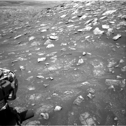 Nasa's Mars rover Curiosity acquired this image using its Right Navigation Camera on Sol 3011, at drive 1330, site number 85