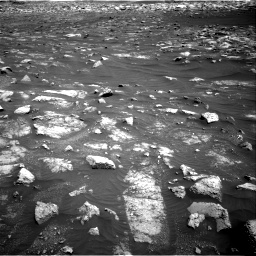 Nasa's Mars rover Curiosity acquired this image using its Right Navigation Camera on Sol 3011, at drive 1366, site number 85