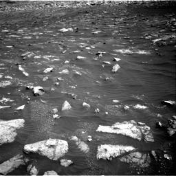 Nasa's Mars rover Curiosity acquired this image using its Right Navigation Camera on Sol 3011, at drive 1390, site number 85