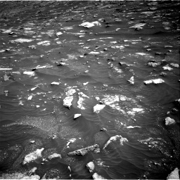 Nasa's Mars rover Curiosity acquired this image using its Right Navigation Camera on Sol 3011, at drive 1420, site number 85