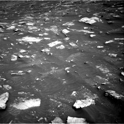 Nasa's Mars rover Curiosity acquired this image using its Right Navigation Camera on Sol 3011, at drive 1450, site number 85