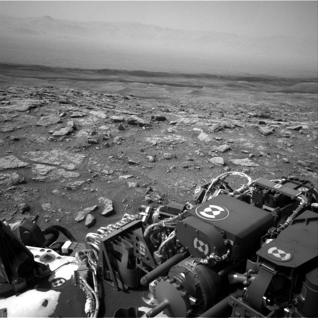 Nasa's Mars rover Curiosity acquired this image using its Right Navigation Camera on Sol 3011, at drive 1486, site number 85