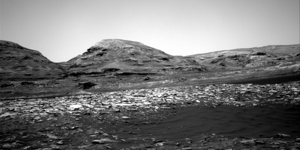Nasa's Mars rover Curiosity acquired this image using its Right Navigation Camera on Sol 3012, at drive 1486, site number 85