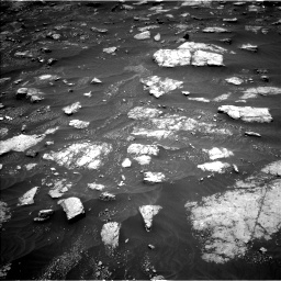 Nasa's Mars rover Curiosity acquired this image using its Left Navigation Camera on Sol 3013, at drive 1504, site number 85
