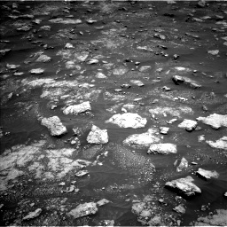 Nasa's Mars rover Curiosity acquired this image using its Left Navigation Camera on Sol 3013, at drive 1522, site number 85