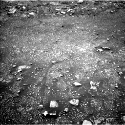 Nasa's Mars rover Curiosity acquired this image using its Left Navigation Camera on Sol 3013, at drive 1648, site number 85