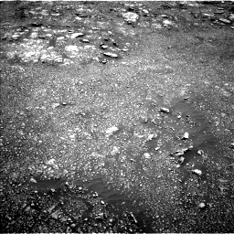 Nasa's Mars rover Curiosity acquired this image using its Left Navigation Camera on Sol 3013, at drive 1666, site number 85