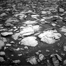 Nasa's Mars rover Curiosity acquired this image using its Left Navigation Camera on Sol 3013, at drive 1804, site number 85