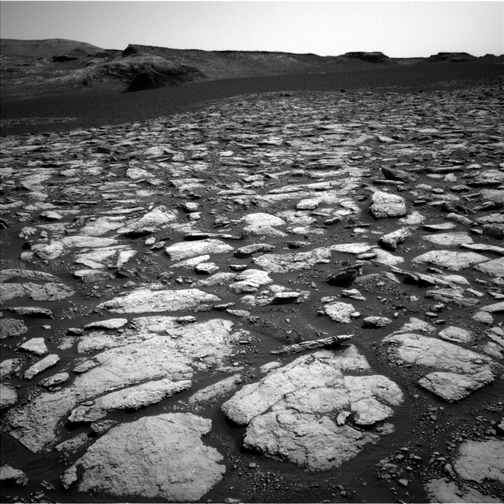 Nasa's Mars rover Curiosity acquired this image using its Left Navigation Camera on Sol 3013, at drive 1808, site number 85