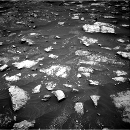 Nasa's Mars rover Curiosity acquired this image using its Right Navigation Camera on Sol 3013, at drive 1510, site number 85