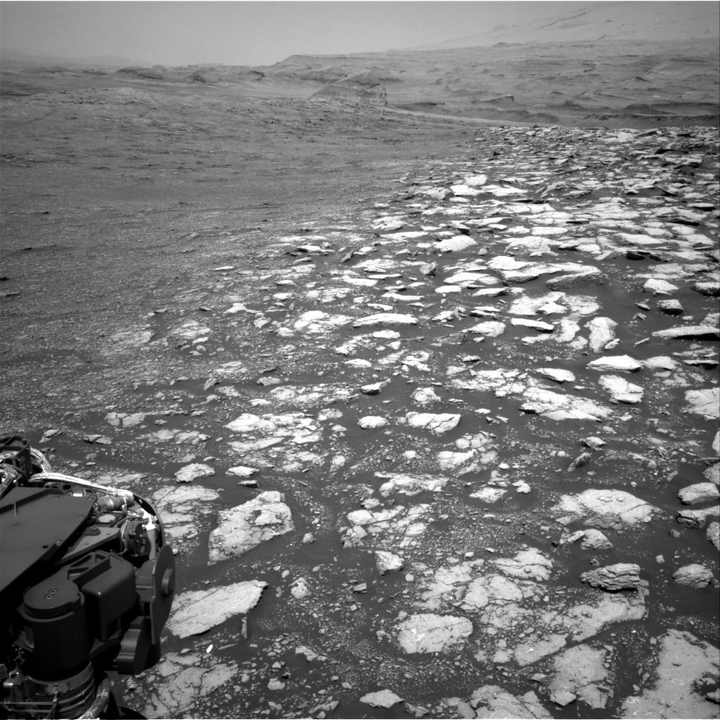 Nasa's Mars rover Curiosity acquired this image using its Right Navigation Camera on Sol 3013, at drive 1808, site number 85